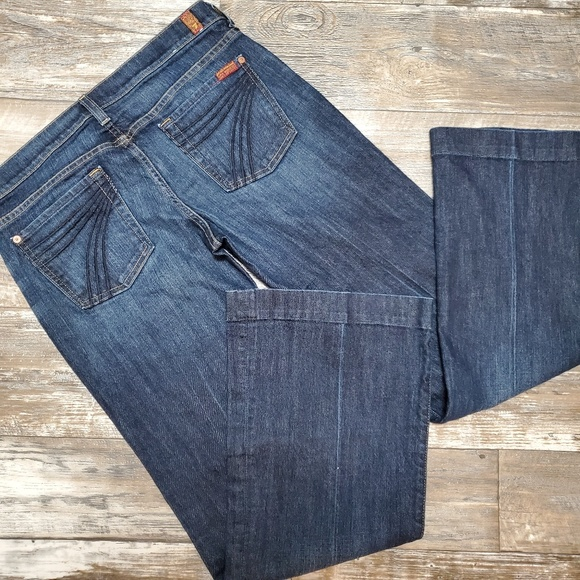 7 For All Mankind Denim - 7 for all mankind dojo jeans size 30
